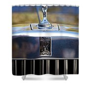 Rolls Royce Grill Shower Curtain