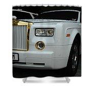 Rolls Royce Phantom Shower Curtain