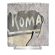 Roma Shower Curtain