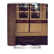 Roma Metro Shower Curtain