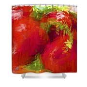 Roma Tomatoes Shower Curtain