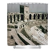 Roman Amphitheatre, Arles Shower Curtain