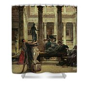 Roman Art Lover Shower Curtain