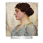Roman Beauty Shower Curtain
