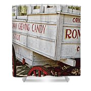 Roman Chewing Candy - Surreal Shower Curtain