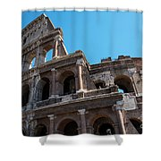 The Colosseum Of Rome Shower Curtain