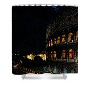 Roman Colosseum Shower Curtain