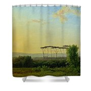 Roman Countryside Shower Curtain by Pierre Henri de Valenciennes