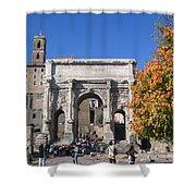 Roman Fall  Shower Curtain