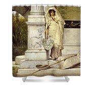 Roman Fisher Girl Shower Curtain