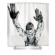 Roman Flying Shower Curtain