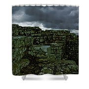 Roman Fort Shower Curtain