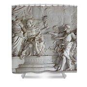 Roman Frieze Shower Curtain