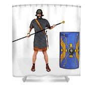 Roman Marine Optio 1st Cen Ad Shower Curtain
