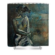 Roman Nude 45 Shower Curtain