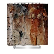 Roman Nudes 45 Shower Curtain