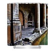 Roman Pillars  Shower Curtain