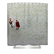 Roman Soldiers Shower Curtain