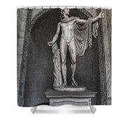 Roman Statue Shower Curtain