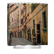 Roman Street Shower Curtain