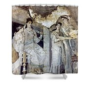Roman Toilette Scene Shower Curtain