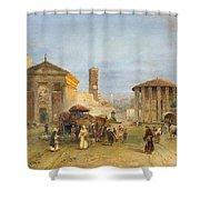 Roman Veduta Shower Curtain