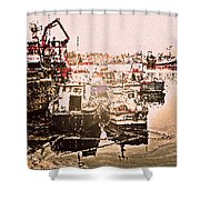 Romance In Howth Shower Curtain