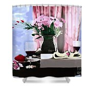 Romance In The Afternoon 2 Shower Curtain