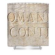 Romanee Conti Shower Curtain