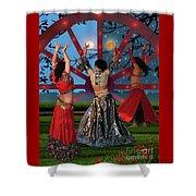 Romani Dance Shower Curtain