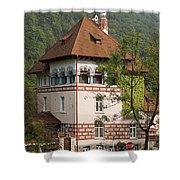 Romanian Villa Shower Curtain