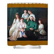 Romanov Family Portrait Shower Curtain