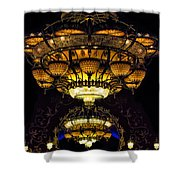 Romanov's Chandelier Shower Curtain