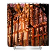 Romantic Amsterdam Shower Curtain