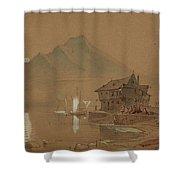 Romantic Bay Shower Curtain