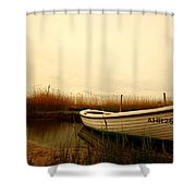 Romantic Boat Shower Curtain