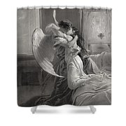 Romantic Encounter Shower Curtain