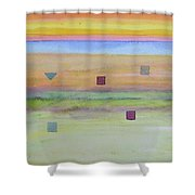 Romantic Landscape  Shower Curtain