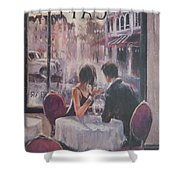 Romantic Meeting 2 Shower Curtain
