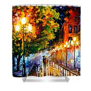 Romantic Night Shower Curtain
