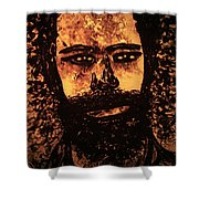 Romantic Poet Shower Curtain