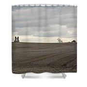 Romantic Ruins Shower Curtain