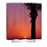 Romantic Sunset Shower Curtain