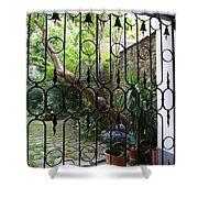 Romantic Yard Shower Curtain
