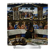 Rome 18 Shower Curtain