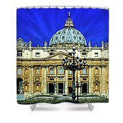 Rome 33 Shower Curtain