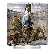 Rome: Christian Martyrs Shower Curtain