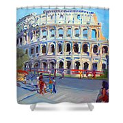 Rome Colosseum Shower Curtain
