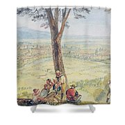 Rome From Monte Mario Shower Curtain