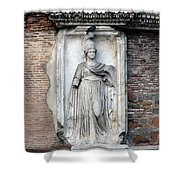 Rome Italy Statue Shower Curtain